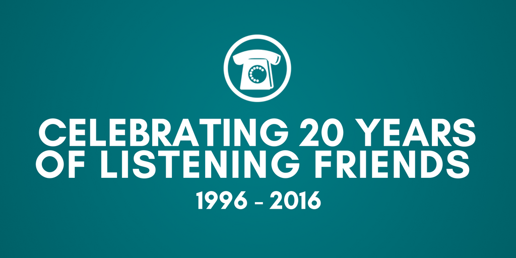 Celebrating 20 years of the Listening Friends service